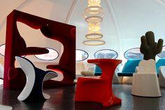 Inside the futuro House !