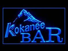 Kokanee BAR Beer Neon Light Sign