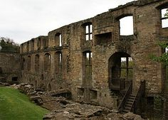Ruins of Dunfermline Palace, Fife, Scotland.