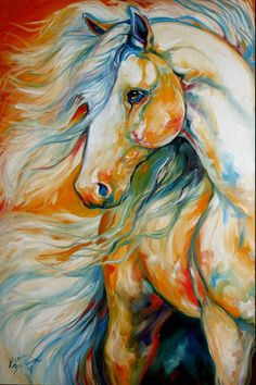 THE%20BOLD%20~%20equine%20art%20by%20M%20Baldwin