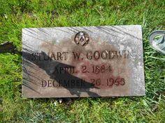 Stuart W Goodwin Great Grandfather