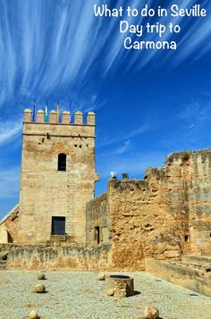 Day trip to Carmona from Seville to see the fortress is one of the things to do when you visit Seville, Spain. The Wonderful Country, Places In Spain, South Of Spain, Seville Spain, Cadiz, Spain Travel, Travel Couple, Romantic Travel, European Travel