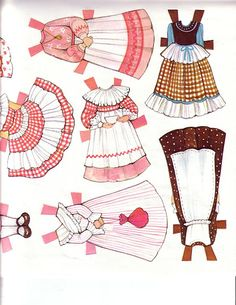 The Ginghams Visit Grandma Paper Dolls.This From Sally Watson - MaryAnn - Picasa Web Albums