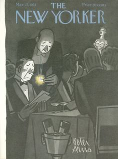 Peter Arno : Cover art for The New Yorker 1361 - 17 March 1951