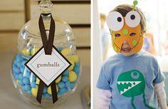 Fiestas de monstruos para niños de 3 a 6 años | lacelebracion
