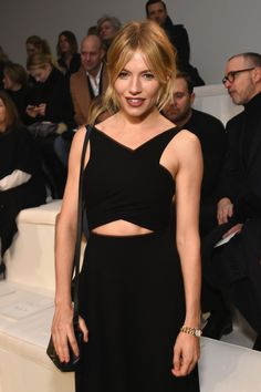 Sienna Miller - Ralph Lauren - Front Row - Fall 2016 New York Fashion Week: The Shows