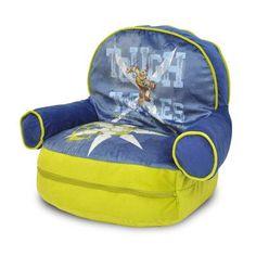 Teenage Mutant Ninja Turtles Kids Bean Bag Arm Chair with Bonus Sleeping Bag - http://delanico.com/bean-bag-chairs/teenage-mutant-ninja-turtles-kids-bean-bag-arm-chair-with-bonus-sleeping-bag-640749204/