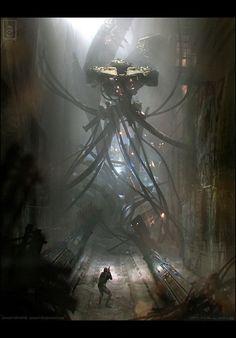 Sci-Fi art [ joseph mclamb, 3 шт ] joseph mclamb, Sci-Fi, арт, картинки, длиннопост
