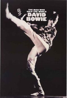 David Bowie Portrait Poster