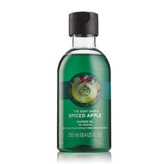 spiced-apple-shower-gel by the-body-shop The Body Shop, Pamper Evening, Skin Cleanse, Apple Fruit, Body Cleanser, Spiced Apples, Body Butter, Skin Treatments, Shower Gel