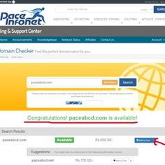 One of the popular way to make yourself known or to create a online identity is to setup a Website. But first of all to create your Website, you have to select and Register a #Domain name which suits your business.  See how to How to Register your own Domain Name ? with Step-by-step process @ http://www.paceinfonet.com/how-to-register-your-own-domain-name.html  #Domain #Registration