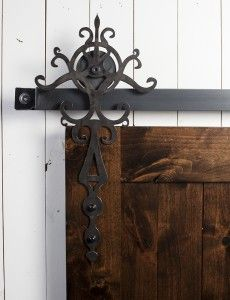 i think i'm in love... royal hangert barn door hardware