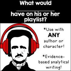This is a fun way to get students thinking critically about an author or character! This lesson is Common Core based and requires using evidence in writing. You can use this MULTIPLE times a year since it is adaptable for any piece of literature. Teaching Literature, Teaching Writing, Teaching English, English Literature, Essay Writing, Fun Writing Activities, Writing Strategies, Interactive Activities, Middle School Reading