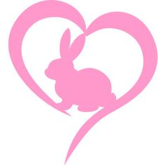 Silhouette Design Store: bunny easter love