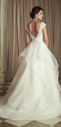 Paloma Blanca 2014. Second favorite dress