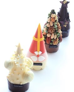Our exclusive chocolate Christmas trees!