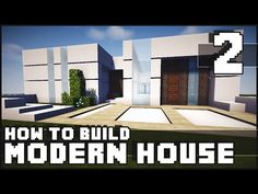 Minecraft House - How to Build : Modern House - Part 2 - Minecraft Servers View