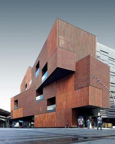 Escola Massana in #Barcelona by Estudio Carme Pinós (@estudiocarmepinos) Photo by @djlopau Via @architecturedotcom #educational #design…