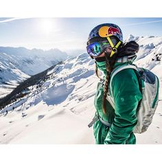 We're stoked to announce that @MyshellParker is taking over our Instagram feed tomorrow, thanks to our friends at @MountainHardwear. She'll be recapping her 2013-14 season with a variety of killer action shots, POV videos, and behind-the-scenes moments. Stay tuned. Photo by @alainsleigher. #FREESKIER #Skiing #mountainhardwear #findingwinter
