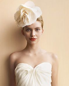 flower headpieces - brides of adelaide magazine