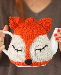 Sleepy Fox Tea Cozy