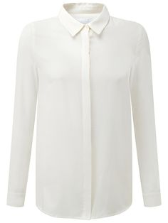 62d7ca36d26c69 Buy Ivory Pure Collection Washed Silk Blouse from our Women s Shirts   Tops  range at John Lewis   Partners.