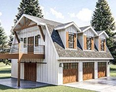 Pack 10 ideas of Detached Garage plans most popular in PDF Pole Barn House Plans, Pole Barn Homes, House Floor Plans, Pull Barn House, Farmhouse House Plans, Barn Style House Plans, Barn Homes Floor Plans, Barn House Kits, Garage Floor Plans