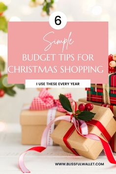 Holiday budgets are super important if you want to avoid overspending with your credit cards. When buying holiday outfits, holiday gifts, or even looking for christmas decor ideas you want to stay on a christmas budget! A Christmas sinking fund is crucial to managing your money and avoiding overspending with shopping list, looking for christmas gift ideas, and being budget savvy with good financial habits. Bye financial anxiety and holiday debt! #Christmas #MoneyTips Follow @BlissfulWallet Budgeting System, Budgeting Money, Money Tips, Money Saving Tips, Christmas On A Budget, Christmas Decor, Budget Holidays, Sinking Funds, Holiday Gifts