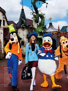 Publication: Vogue Japan April 2014 Models: Georgia May Jagger, Chiharu Okunugi Photographer: Giampaolo Sgura Fashion Editor: Anna Dello Russo