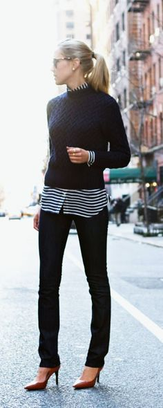 25 Chic Business-Casual Work Outfits for Fall