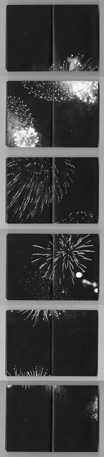 carnets - feux d'artifice