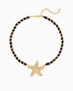 charming charlie   Studded Starfish Necklace   UPC: 410007172448 #charmingcharlie