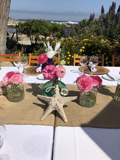 Table Decorations, Beach, Furniture, Home Decor, Flowers, Decoration Home, The Beach, Room Decor, Beaches