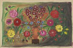 MoMA | The Collection | Bertha Trabich. Flower Arrangement. (n.d.)