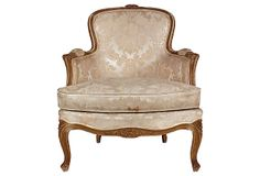 French   Louis XV-Style   Armchair on OneKingsLane.com