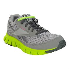 Reebok Smoothflex Cushrun -James new fav shoe.. And he thinks he picked them out..lol