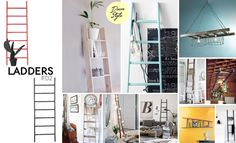 IFD2 LADDERS + DECOR STYLE Escadas para decorar!!! pinterest.com/ifd2  #IFD2 #decorstyle #ladders #escada #escadasparadecorar #inspiration #references #home #rustic #colors #decorations #creative #ideas #decorideas #style #collage