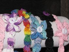 Colorful Headbands-Free pattern on Ravelry