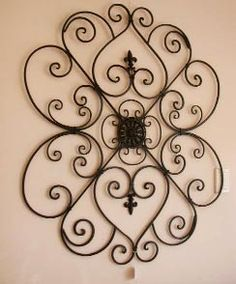 find this pin and more on home decor listed here are the beautiful wrought iron wall - Wrought Iron Wall Designs