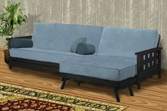 Futon Sectional - Lambton Wallhugger