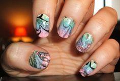 Sea Shells - 50 Mind Blowing Designs of Nail Art  <3 <3