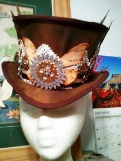 Steampuck Hat #howto #tutorial