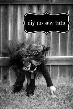 DIY no sew tutu // Blissfully Blessed
