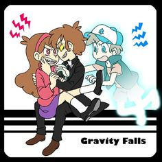 MaBill | Bill Cipher\Mabel Pines| Gravity Falls