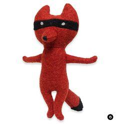 Wool Fox Toy from Jax and Bones