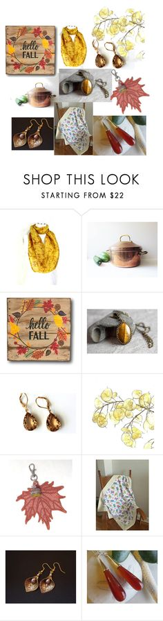 """""""Hello Fall"""" by inspiredbyten ❤ liked on Polyvore featuring vintage"""