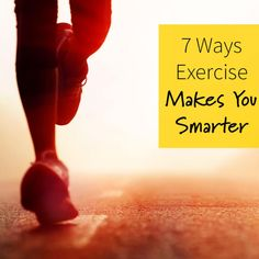 Hotter body, smarter cerebrum: Exercise offers a pretty sweet deal. Here are seven ways that working out—whether you like to run, lift weights, or play sports—can help you stay focused, score that promotion, and never lose your keys again. - Fitnessmagazine.com