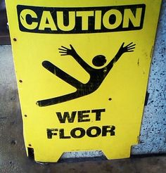 Caution jazz hands required if falling.