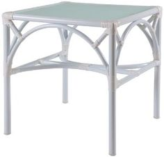 Chippendale Outdoor End Table. Product in photo is from www.wellappointedhouse.com