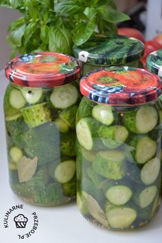 Canning Recipes, Pickles, Cucumber, Salads, Food And Drink, Vegetables, Drinks, Recipes, Rod Iron Decor